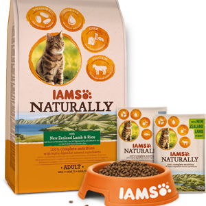 Free IAMS Cat Food Pack