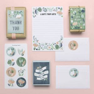 Free Personalised Stationery Pack