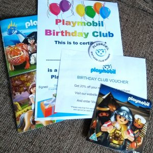 Free Playmobil Birthday Goodies
