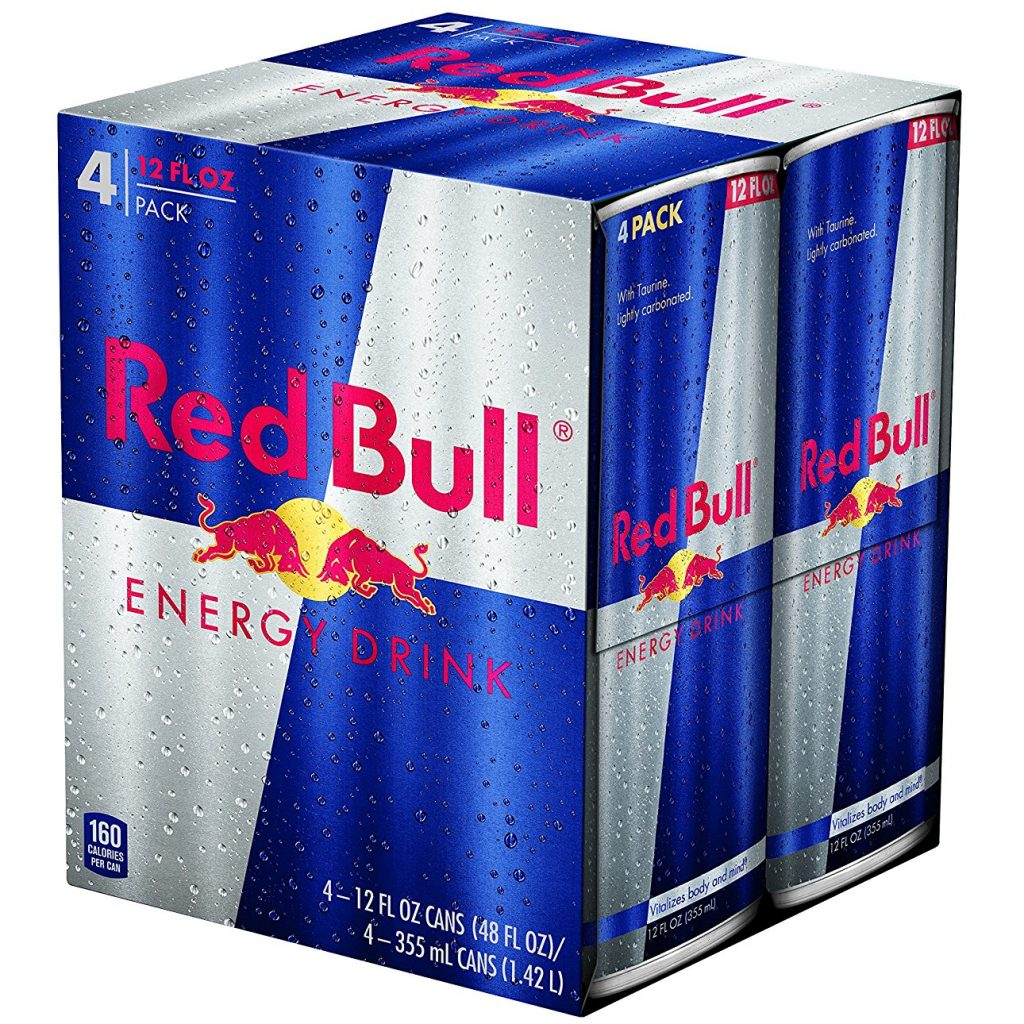 Free Red Bull Cans