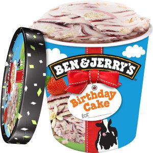 Ben Jerry Are Giving Away 2000 Scoops Of Their Brand New Birthday Cake Ice Cream For You To Try Head Over Twitter And Like Tweet See If
