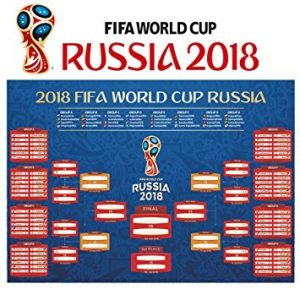 Free World Cup 2018 Wall Chart
