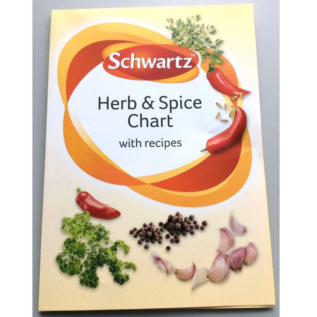 Free Schwartz Herb And Spices Chart