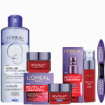 Free Loreal beauty gift set