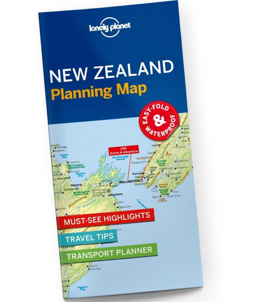 Free New Zealand Travel Map