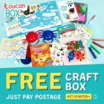 <b>Free Kids' Craft Box (Worth £7.95)</b>