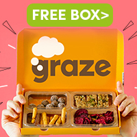 free graze snack boxes worth £5