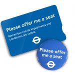 <b>Free 'Offer Me A Seat' Badge</b>