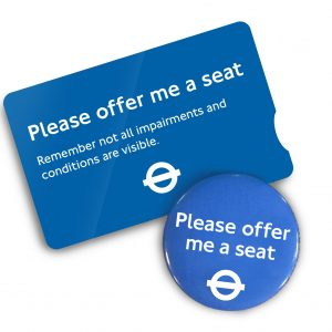 Free 'Offer Me A Seat' Badge