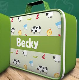 Free ASDA Personalised Lunch Box