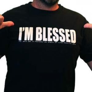 Free Blessed T-Shirt