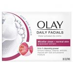 <b>Free Olay Daily Facial Wipes</b>