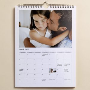Free A4 Wall Calendar (Worth £19.99)