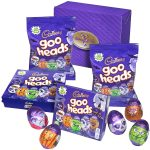 free cadbury goo heads halloween chocolate