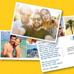 Free Personalised Postcard