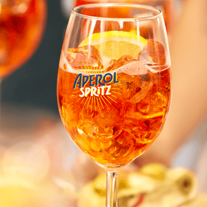 Free aperol spritz from browns