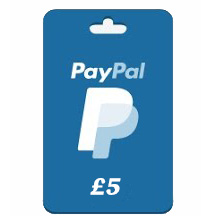 Free £5 PayPal Gift Cards