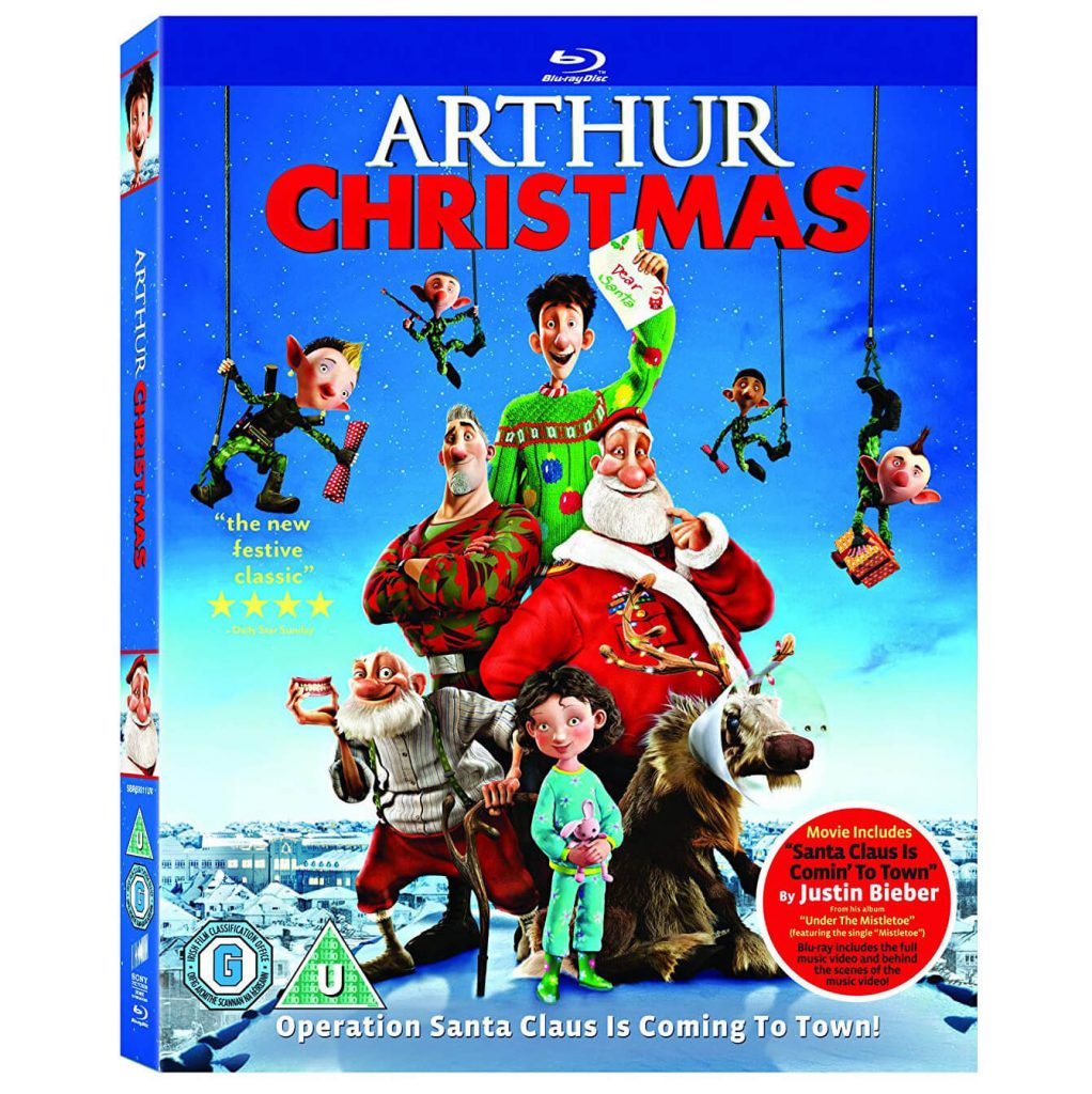 Free Arthur Christmas Movie (Worth £7.99)