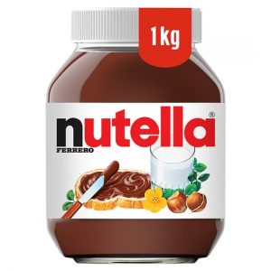 Free Nutella Jar (Worth £6)