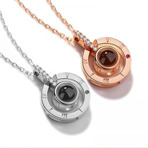 Free Rose Gold Necklace & Gift Box