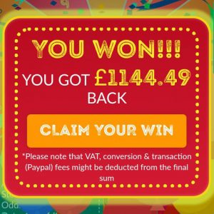 win your shopping money back