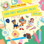 Free Nick Junior Welcome Packs