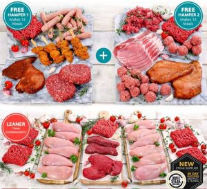 free meat hampers worth £60