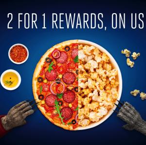 Free 2 For 1 Meals and Cinema Tickets