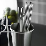 <b>Free Reusable Stainless Steel Straws</b>
