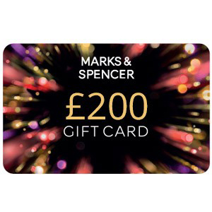 Win £1,000 Of M&S Vouchers