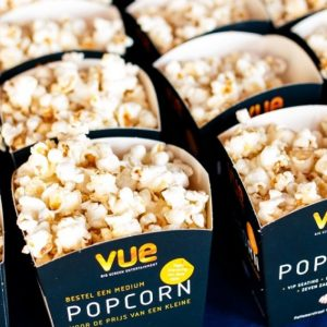 Free Popcorn At Vue Cinemas