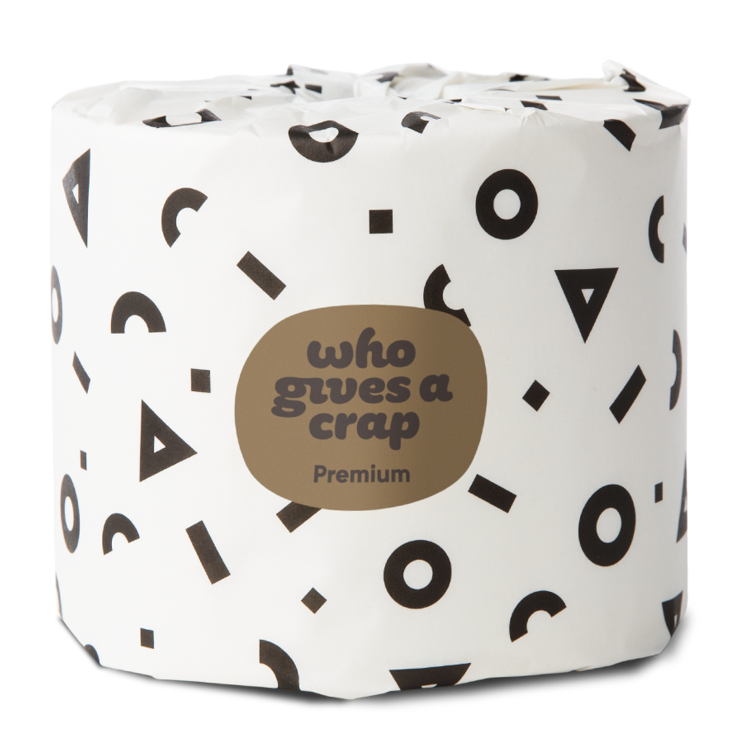 Free 'Who Gives A Crap' Toilet Paper