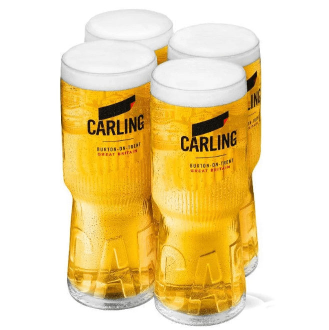 Free Carling Pint Glass