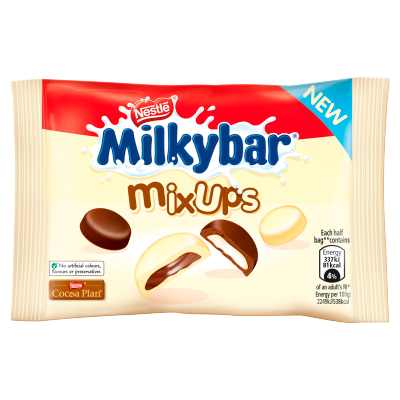 Free Milkybar Chocolate Buttons