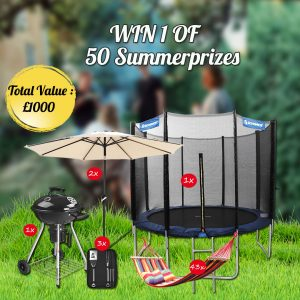 Free Summer Garden Products (Worth £1,000)