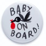 <b>Free Designer 'Baby on Board' Badge</b>