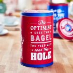 <b>Free New York Bagel Tin</b>