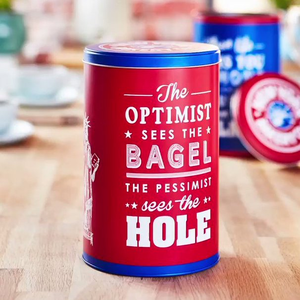 Free New York Bagel Tin