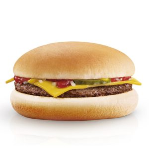 Free McDonald's Cheeseburger