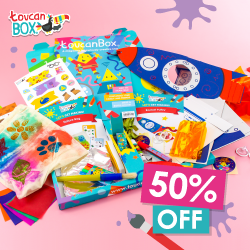 Get 50% Off Kids' Activity Craft Box