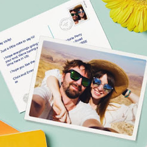 Free Personalised Postcards