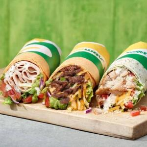 Free Subway Wrap (Worth £4.49)