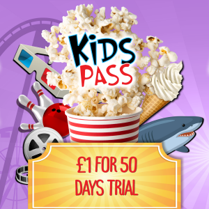 Kids Pass Membership – 50 Day Trial For £1