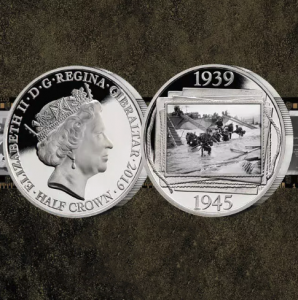 Free Official D-Day 75th Anniversary Coin