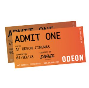 Free Cinema Tickets – 500,000 Available!