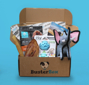 Free Dog Toys and Treats Box (Worth £12)