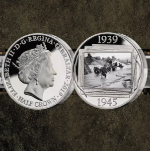 Free Official D-Day Silver Coin