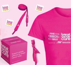 Free Pink Ribbon T-Shirt