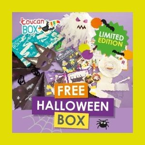Free Halloween Kids Craft Box (Worth £7.95)