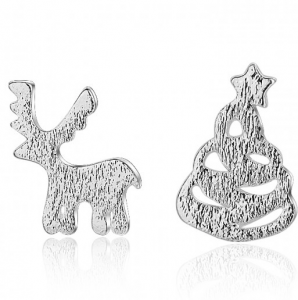 Free Sterling Silver Christmas Earrings (Worth £40)